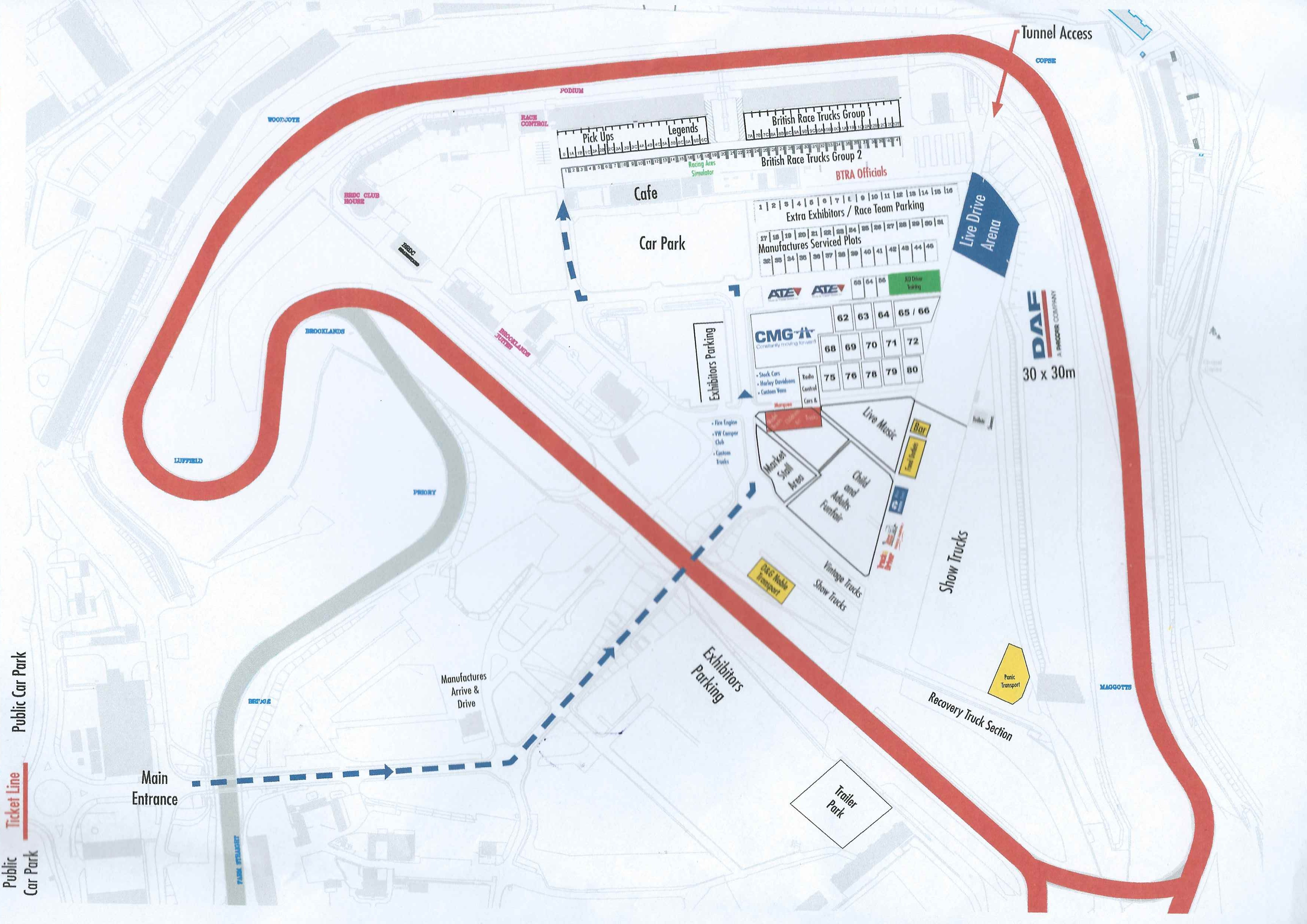 Silverstone 16 event map low
