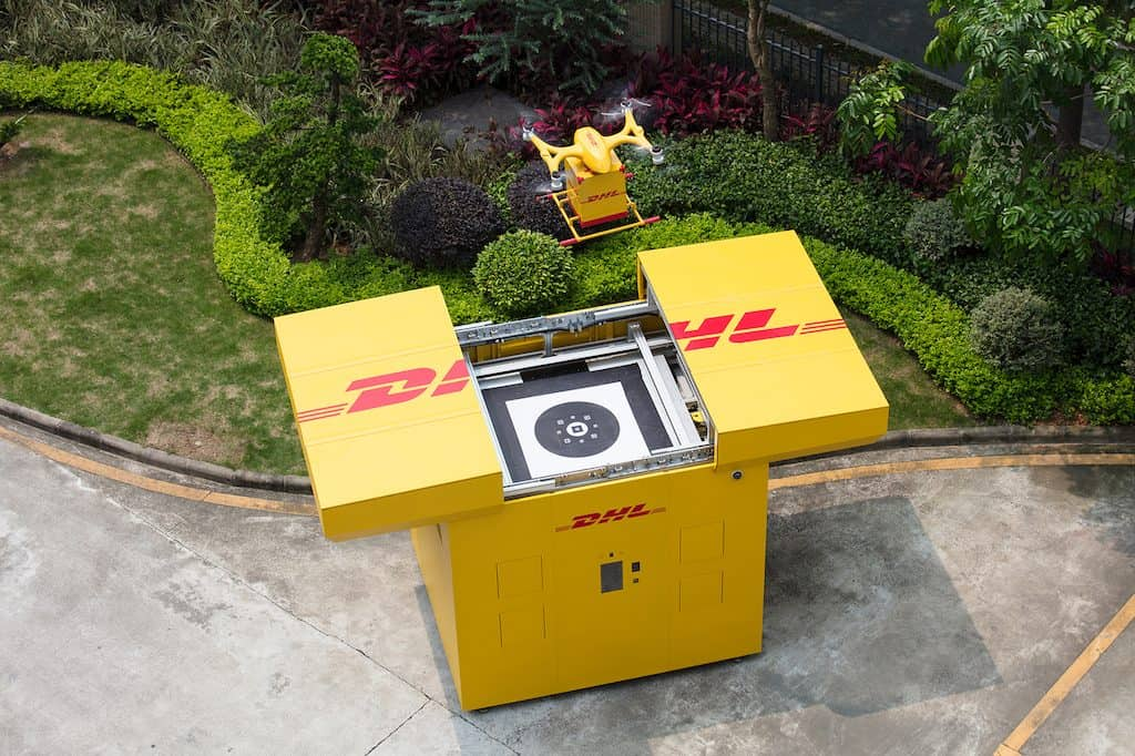 DHL Drones China1